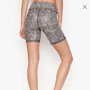 NWT Victoria's Secret Sport Leopard Biker Shorts